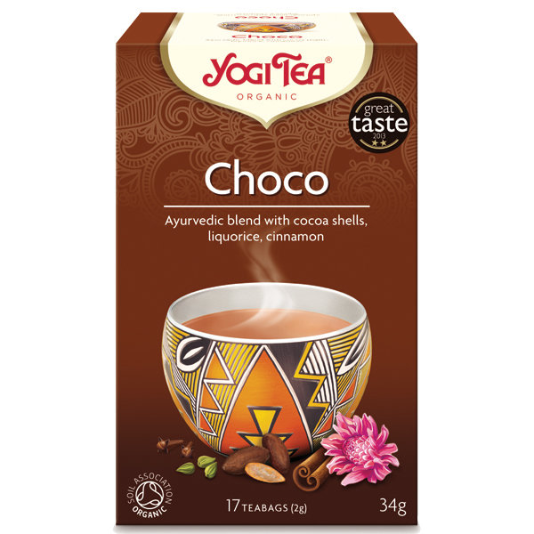 Био чай Шоко Yogi Tea 17 пак.