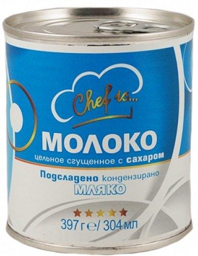 Кондензирано мляко подсладено Chef is... 397гр