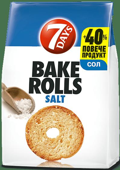 Bake Rolls 7 days със сол 112гр
