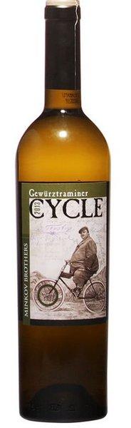 Бяло вино гевюрцтраминер Cycle 0.75л