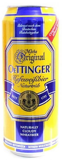 Бира Oettinger Weissbier 4,9% 500мл кен