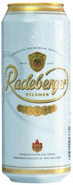 Бира Radeberger Pilsner 4.8% 500мл кен