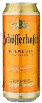 Бира Schofferhofer Hefeweizen 5% 500мл кен