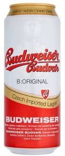 Бира Budweiser 500мл кен