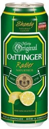 Бира Oettinger Radler 2.5% кен 500мл