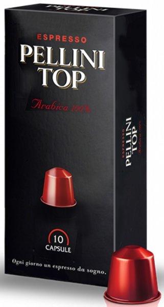 Кафе капсули Pellini Top 10x5гр S - съвместими с Nespresso