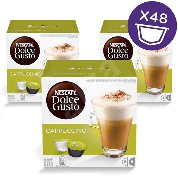 Пакет: 3 кутии Dolce Gusto Cappucino