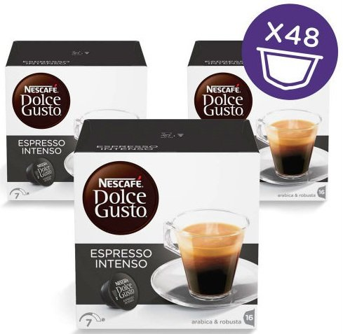 Пакет: 3 кутии Dolce Gusto Espresso Intenso