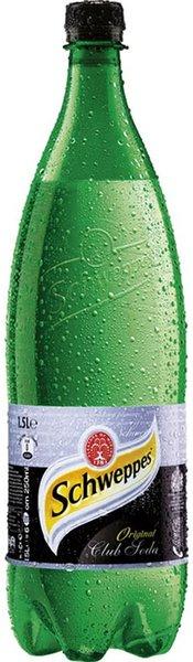 Газирана вода Schweppes Клуб сода 1,5л