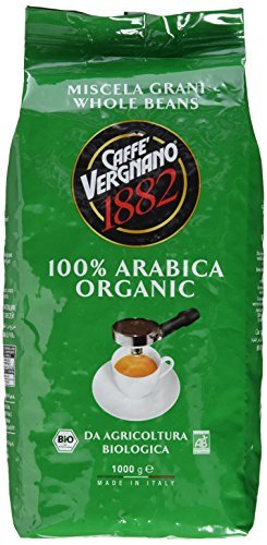 Био кафе на зърна Vergnano 100% arabica1кг