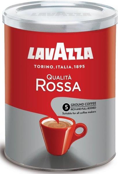 Мляно кафе LAVAZZA QUALITA ROSSA кутия 250гр