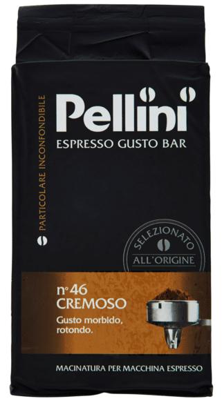 Мляно кафе Pellini Cremoso №46 250гр