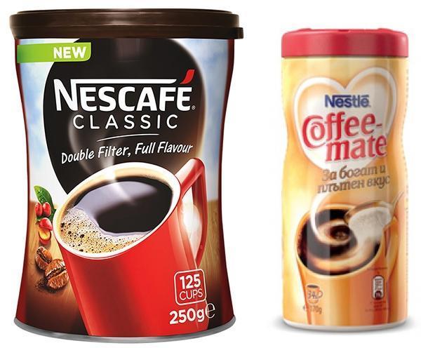 Пакет: Nescafe Classic 250гр + Продукт за кафе Coffee Mate 170гр