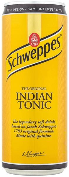 Тоник Schweppes Indian Tonic кен 330мл