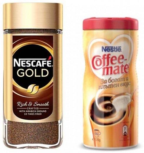 Пакет: Nescafe Gold 200гр + Продукт за кафе Coffee Mate 170гр