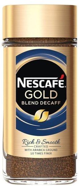 Разтворимо кафе NESCAFE Gold Decaf без кофеин 100гр