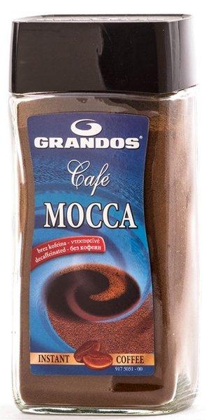 Разтворимо кафе без кофеин Grandos Mocca 100гр