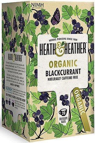 Био чай Heath & Heather див касис 20бр х2г