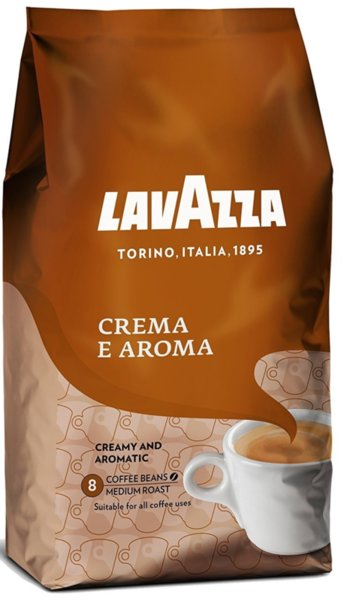 Кафе на зърна Lavazza Crema e Aroma 1кг