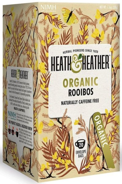 Био чай Heath & Heather ройбос 20бр х 1,5г