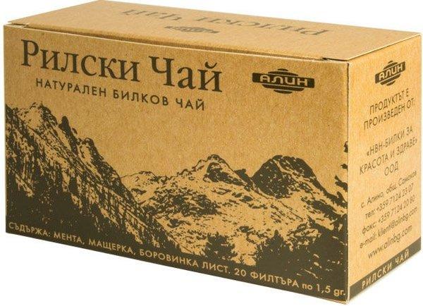 Билков Рилски чай Алин 30гр
