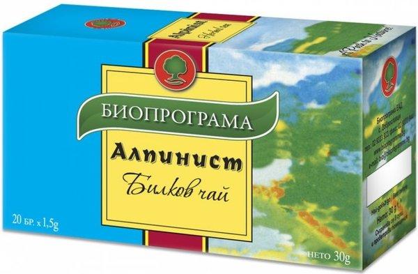 Чай Биопрограма Алпинист 20бр