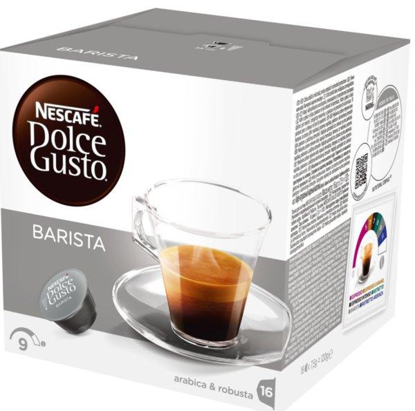 NESCAFE Dolce Gusto Espresso Barista кафе капсули, 16 напитки