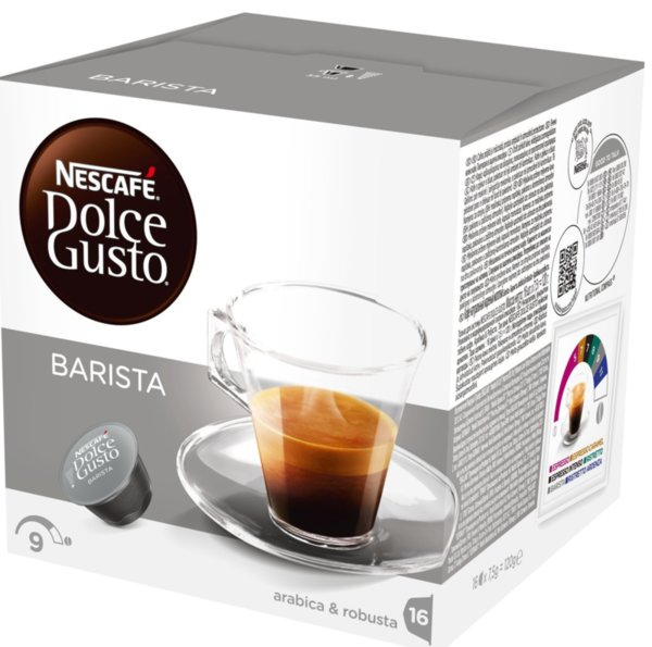 NESCAFE Dolce Gusto Espresso Barista кафе капсули, 16 напитки