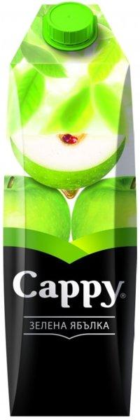 Плодова напитка CAPPY зелена ябълка 30% 1л