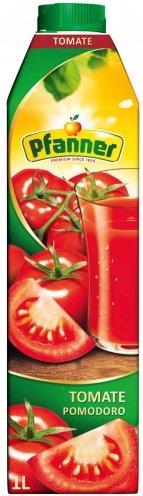 Сок Pfanner домат 100% 1л
