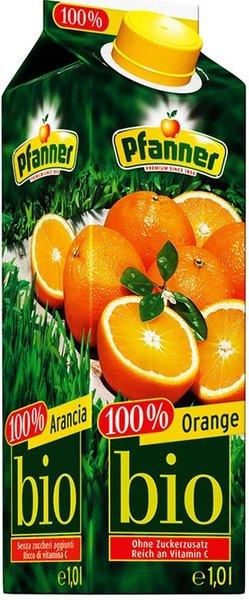 Сок Pfanner Био портокал 100% 1л