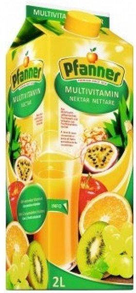 Нектар Pfanner Мултивитамин 50% 2 л