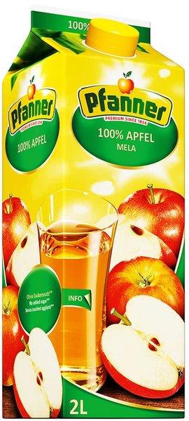 Сок Pfanner ябълка 100% 2л