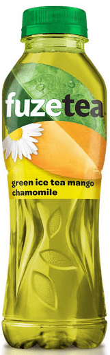 Студен чай Fuze Tea Зелен чай с Манго и лайка 500мл
