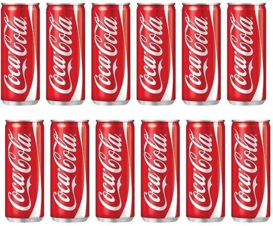 Пакет: Coca-Cola кен 12бр х 330мл