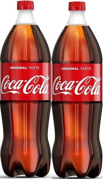 Пакет: Coca Cola 2бр х 2л