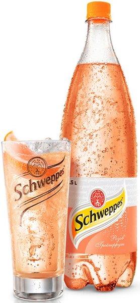 Schweppes Розов Грейпфрут 1,25 л