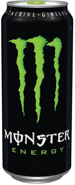 Енергийна напитка Monster зелен 500мл