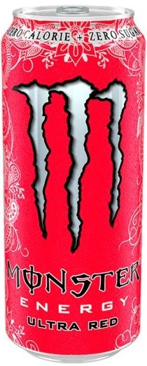 Енергийна напитка Monster Ultra Red 500мл