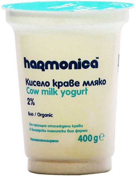 Био кисело мляко Harmonica 2% 400гр