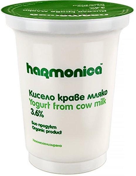 Био кисело мляко Harmonica 3.6% 400гр