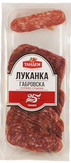 Габровска луканка Тандем 150гр слайс