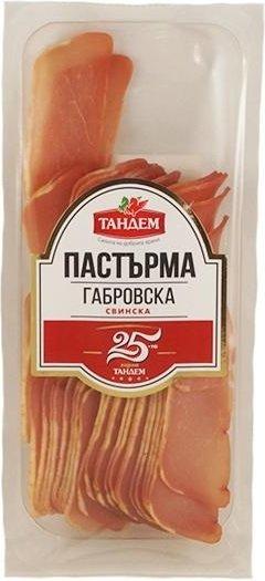 Габровска свинска пастърма Тандем 140гр слайс