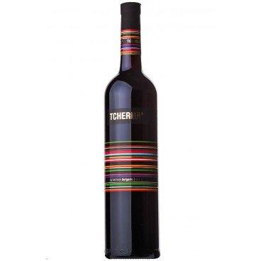 Червено вино каберне совиньон tcherga 0,75л