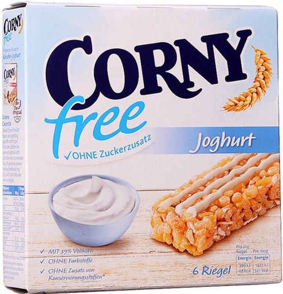 Мюсли бар Йогурт без захар Corny Free 6x20гр