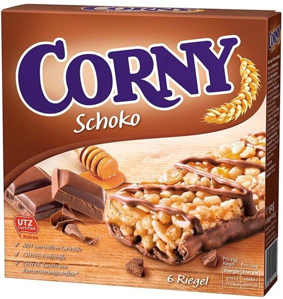 Мюсли бар с шоколад Corny 6x25гр