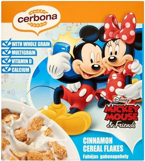 Зърнена закуска Cerbona с канела 225гр