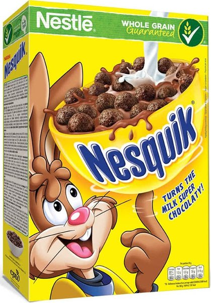 Зърнена закуска Nesquik 375гр