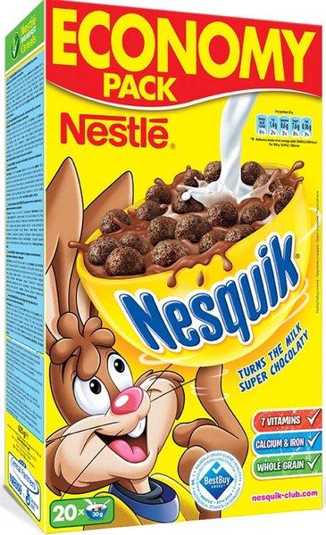 Зърнена закуска Nesquik 625гр