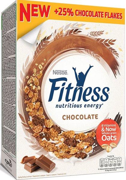 Зърнена закуска Nestle Fitness с шоколад 375гр